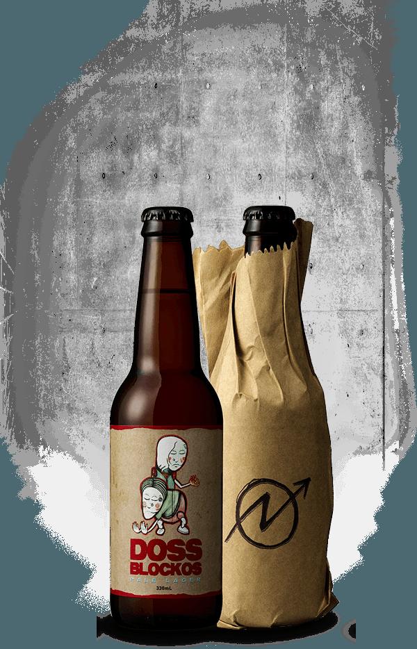 Doss Blockos Pale Lager - Bottleshot