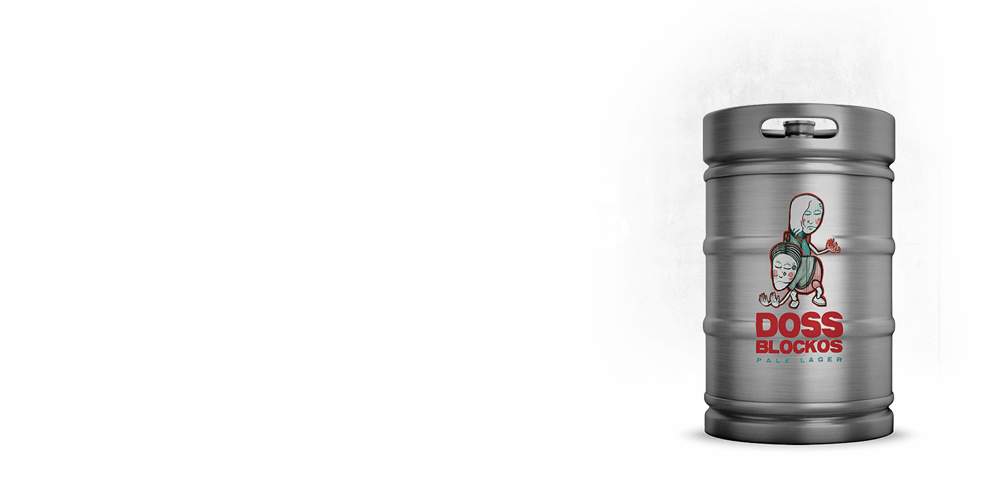 Doss Blockos Pale Lager - Keg Shot