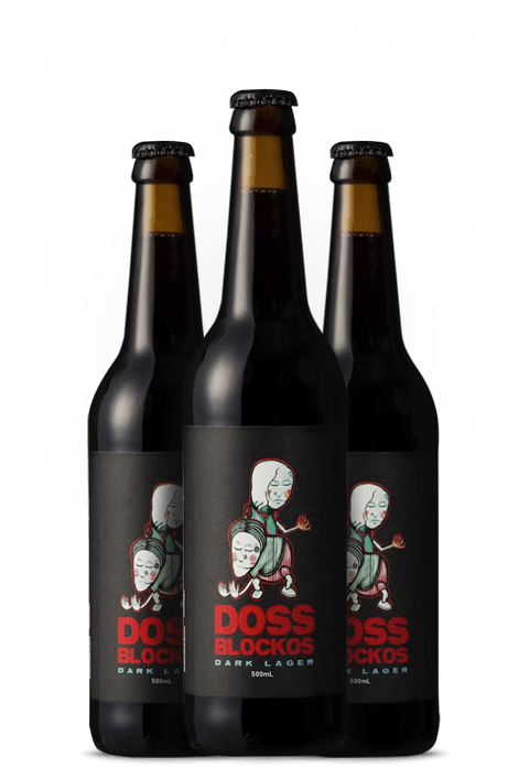Doss Blockos Dark Lager - Bottleshot